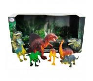 Набор из 6-ти игрушек динозавров, серия Мегазавры