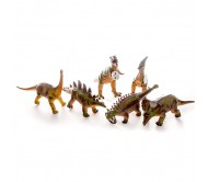 Мягкие фигурки динозавров высотой  28-35 см от производителя Megasaurs серия Мегазавры