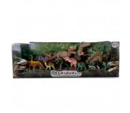 Игровой набор из 12-ти игрушек - динозавров серии  Megasaurs