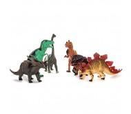 Фигурки различных динозавров от компании Megasaurs серии Мегазавры