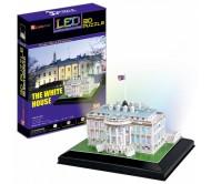 Кубик Фан Белый дом с иллюминацией