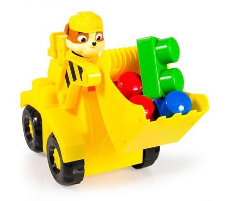 Конструктор Paw Patrol Крепыш и желтый бульдозерИгрушки Щенячий патруль (Paw Patrol)