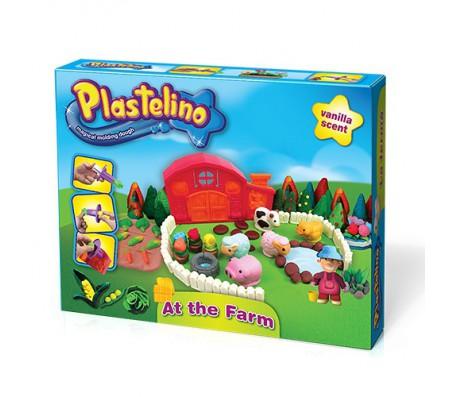 Масса для лепки Ферма и аксессуары (Plastelino)Наборы для лепки из пластилина