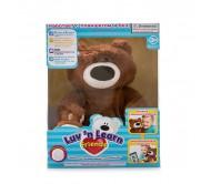 Мишка коричневый Luv'n Learn интерактивный