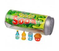 Grossery Gang Набор 4 фигурки, упаковка в виде банки содовой