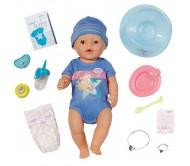 Zapf Creation Baby born 819-203 Бэби Борн Кукла-мальчик Интерактивная, 43 см