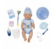 Бэби Борн Кукла-мальчик Интерактивная 43 см