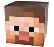 Маска на голову из картона Minecraft Steve Head