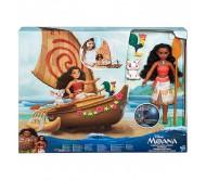 Игровой набор Моана в лодке Disney Princess