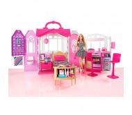 Игровой набор кукла Барби и переносной домик