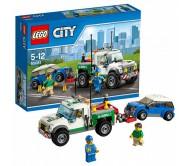 Буксировщик автомобилей Лего Сити (Lego City)