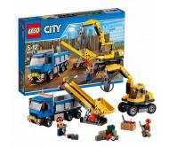 Lego City (Лего Сити) Экскаватор и грузовик