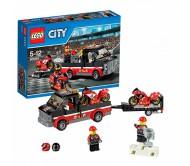 Lego City (Лего Сити) Перевозчик гоночных мотоциклов