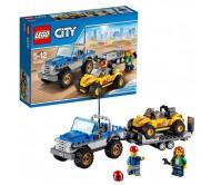 Автомобиль-перевозчик песчаного багги Lego City