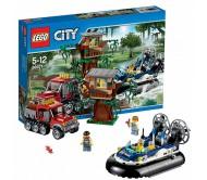 Лего Сити (Lego City) Полицейский корабль на воздушной подушке