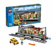 Железнодорожная станция Lego City (Лего Сити)