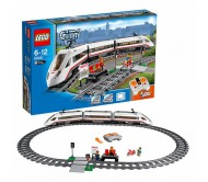 Скоростной пассажирский поезд Лего Сити (Lego City)