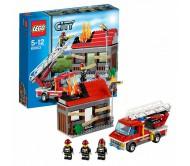 Тушение пожара Лего Сити (Lego City)