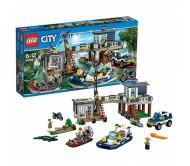 Лего Сити (Lego City) Участок новой лесной полиции