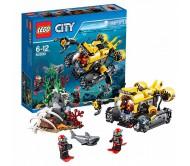 Подводная лодка Лего Сити (Lego City)