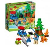 Рыбалка в лесу Лего Дупло (Lego Duplo)