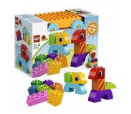 Lego Duplo (Лего Дупло) Веселая каталка с кубиками
