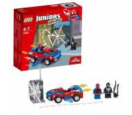 Конструктор Лего Джуниорс (Lego Juniors) Автомобиль Человека-паука