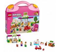 """Конструктор Лего Джуниорс (Lego Juniors)  Чемоданчик """"Супермаркет"""""""