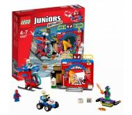 Лего Джуниорс (Lego Juniors) Убежище Человека-Паука Конструктор