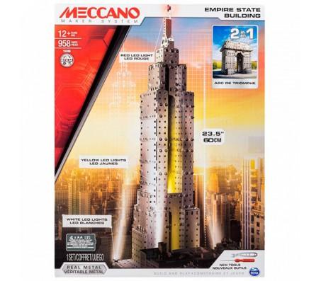 Конструкторы Meccano (Меккано) Эмпайр Стэйт Билдинг (2 модели)Конструкторы Meccano