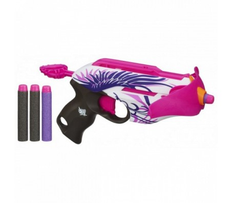 Бластер Розовое сумасшествие от HasbroИгрушки Бластеры Нерф (Nerf)