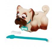 Интерактивная игрушка Фигурка собачки с косточкой и поводком Pet Club Parade