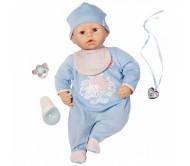 Бэби Аннабель Кукла-мальчик с мимикой, 46 см от Zapf Creation