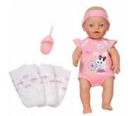 Бэби Борн Кукла с памперсами и бутылочкой, 32 см Zapf Creation