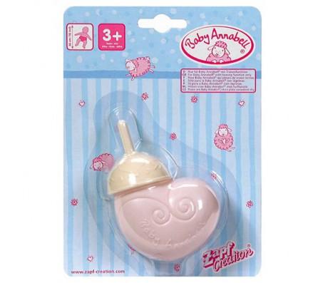 Бутылочка Zapf Creation Baby Annabell розоваяКуклы Baby Annabell