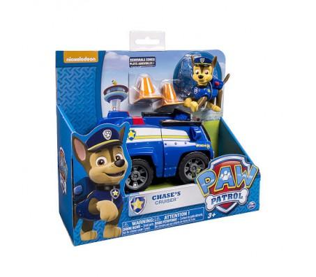 Гонщик и патрульная машина (Chase Paw Patrol)Игрушки Щенячий патруль (Paw Patrol)