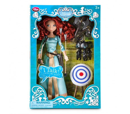 Мерида в голубом платьеКуклы принцессы Диснея (Disney Princess)