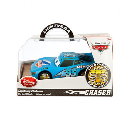 Молния Маквин Диноко Disney ChaserТачки 2 (Cars 2)