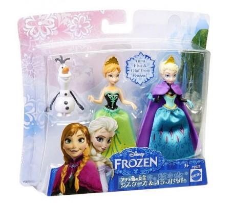 Набор героев Анна, Эльза, Олаф (Frozen)Игрушки Холодное сердце | Frozen Disney