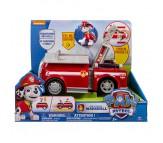 Большая пожарная машина и Маршал