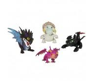 Коллекция маленьких драконов (4 шт) от Dragons