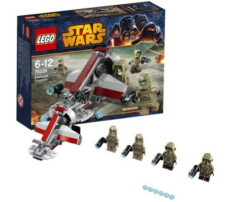 Воины Кашиик(LEGO)Лего Звездные войны (Lego Star wars)