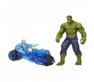Халк и дрон Ультрон из серии Мини-Вселенная Мстителей
