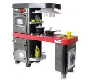 Игр. набор Кухня, 5 модулей, красная столешница, (холодильник, д