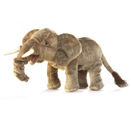 Африканский слон Folkmanis 38 смЖивотные