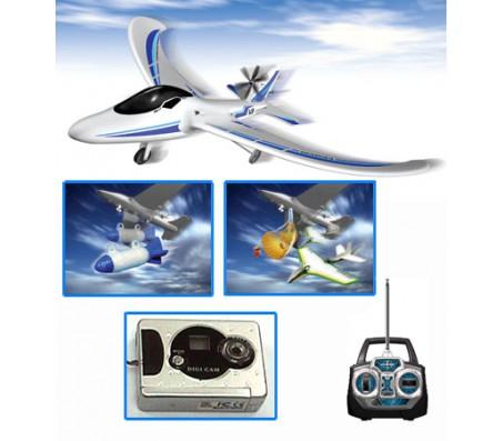 Аэроплан с видеокамерой от SilverlitВертолеты, самолеты на радиоуправлении