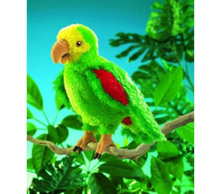 Амазонский попугай Folkmanis 36 смМарионетки (перчаточные куклы)