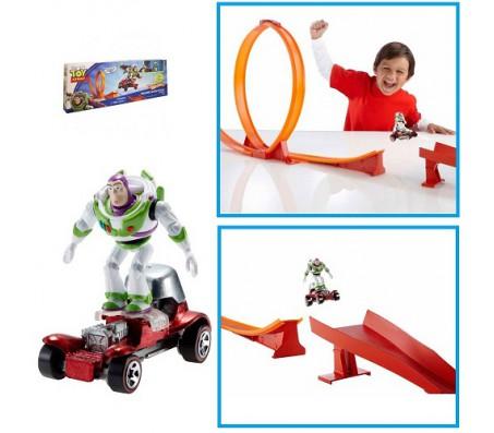 Автотрек  и Баз лайтер Hot WheelsИстория игрушек (Toy Story)