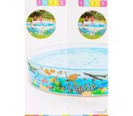 Джунгли, бассейн с жесткими бортами 244х46 см, от 3 лет
