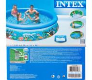 Easy Set, бассейн надувной 305х76 см, с рисунком (в комплекте: насос с фильтром 220V)